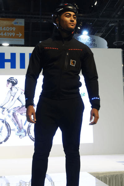 CES 2017 Livall Helmet and Lumenus Jacket | Zyris