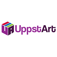 UppstArt Logo | Zyris Customer